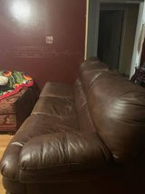 couch with double sizepull-out bed in Fort Campbell, Kentucky