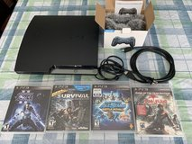 PS3 video game system w games! in Aurora, Illinois