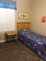 Twin Bed & Night Stand in Baytown, Texas