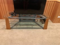 glass top TV stand in Westmont, Illinois