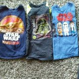 Group of 3 Star Wars Size 6/7  Tees in Naperville, Illinois