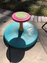 Sit and spin in Naperville, Illinois