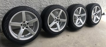 19 inch rims and tires in Temecula, California