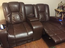 Theater recliners in Fort Riley, Kansas