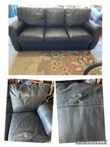 free leather couch in Joliet, Illinois