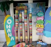 Luau party decorations in Spring, Texas