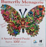 Jigsaw puzzle- Butterfly Menagerie in Glendale Heights, Illinois