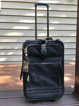 Black carry on suitcase in Westmont, Illinois