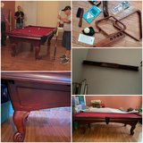 American Heritage pool table in Chicago, Illinois