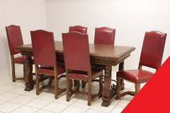 Freddy's - Renaissance table +6 chairs in Spangdahlem, Germany