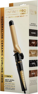 """New! Conair Ultra High Heat Shea Butter Infused 1"""" Curling Iron in Joliet, Illinois"""