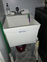Utility sink and faucet in Glendale Heights, Illinois