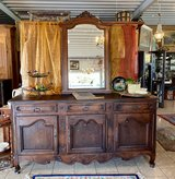 rustic 200 year old French oak buffet in Spangdahlem, Germany