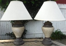 Set of 2 Table Lamps w/ shades in Westmont, Illinois
