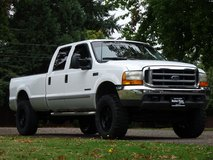 *HURRY* Lifted 2000 Ford F-350 7.3L Diesel 4x4 CrewCab/Longbed w/150k! - (Payments/Trades OK! Cl... in Fort Lewis, Washington