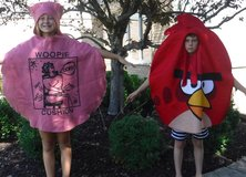 Woopie Cushion -OR- Angry Birds Kids Halloween Costume - 1 size fits most in Joliet, Illinois