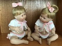 Dolls - Cute as a Button Twin Girl in Spring, Texas