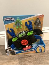 NEW IN BOX - Fisher-Price Imaginext DC Super Friends Batsub, Batman figure and sea vehicle set in Glendale Heights, Illinois