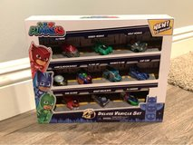 NEW IN BOX - PJ Masks Night Time Micros Deluxe Vehicle Set. 10 Vehicles Included in Glendale Heights, Illinois