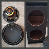 """2 Memphis Audio 15-M615D4 M6 Series 15"""" dual 4-ohm voice coil subwoofer in Fort Campbell, Kentucky"""