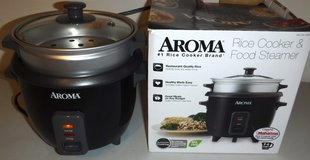 Aroma 2-6 cup Rice Cooker / Food Steamer in Westmont, Illinois