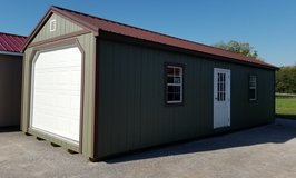 new 12'x32' A-frame Garage in Fort Campbell, Kentucky