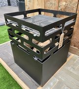 Cube Fire pit and Grill in Lakenheath, UK