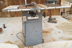 Table saw in 29 Palms, California