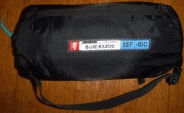 North Face Blue Kazoo 15F 600 Down Adult Sleeping bag w/ Carry Case in Westmont, Illinois