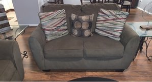 4pcs Sofa/Loveseat Set (includes end tables) in Fort Bragg, North Carolina