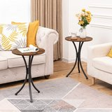 Set of 2 Round End Tables - New! in Joliet, Illinois