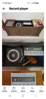 Record player and tuner in Aurora, Illinois