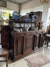 timeless Henri II buffet with plate board in Spangdahlem, Germany
