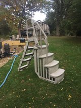 in and out ladder for above ground pool in Aurora, Illinois