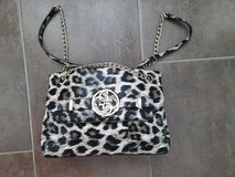 Womens leopard print messenger bag by Guess in San Diego, California