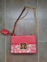 Womens Red Purse with chain strap in San Diego, California