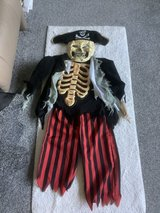 Child's pirate  fancy dress out fit in Lakenheath, UK