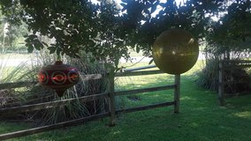 2 Extra Large Christmas Ornaments in Kingwood, Texas
