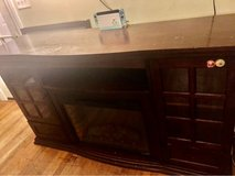 TV stand with Fire place in Fort Belvoir, Virginia