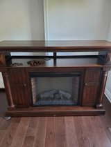 Fireplace tv stand in Westmont, Illinois