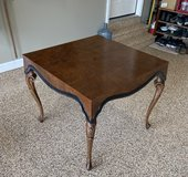 Antique table game or card table in Joliet, Illinois