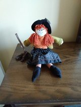 Halloween witch doll in Chicago, Illinois