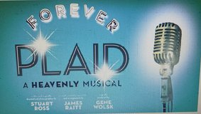 Forever Plaid A Heavenly Musical 2 Tickets Great Seats Drury Lane Theatre Oakbrook in Chicago, Illinois