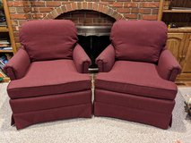 Set of Red Arm Chairs in Chicago, Illinois