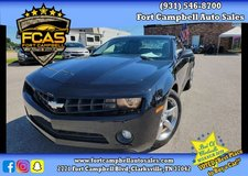 2010 Chevrolet Camaro LT Coupe 2D 2 RWD V6, 3.6 Liter in Fort Campbell, Kentucky