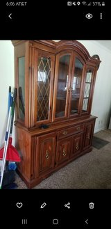 Dining room table and hutch in Fort Campbell, Kentucky