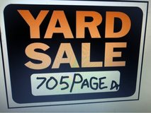 yard sale at 705 Page Dr from 8 to ? Plants clothes furniture toys jewelry and mire in Camp Lejeune, North Carolina