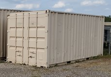 20' Used Shipping / Storage Container - Conroe TX W/Shelving in Spring, Texas