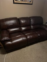 Leather Sofa / Mint Condition in Chicago, Illinois