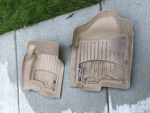 Weather Tech front floor mats for 2004-2007 Chevy or GMC truck in Chicago, Illinois
